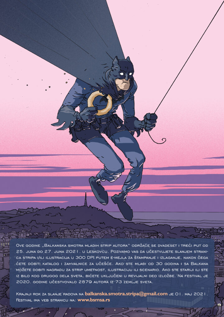 Poziv za učešće na 23. Balkansku smotru mladih strip autora